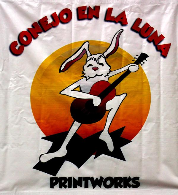 Conejo en la Luna - Printworks - Pat Apt